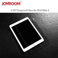 Voor iPad Mini 4 Glas Gehard Screen Protector Transparante Volledige Cover 2.5D Ronde Rand Beschermen Film Anti-kras Explosieveilige