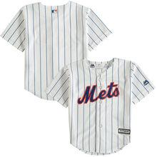 ac64e5bc677 ... MLB Toddler New York Mets Baseball White Official Cool Base Jersey ...