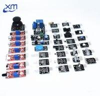 Sensor Kit 37 In 1 Sensor Kit RRGB Joystick Photosensitive Sound Detection Obstacle Avoidance Buzzer High