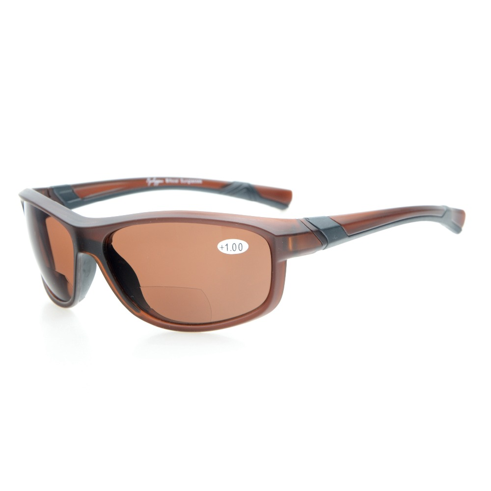 TH6170 Bifocale Eyekepper TR90 Incassable Sport Bifocales Lunettes de Soleil + 1.0/+ 1.5/+ 2.0/+ 2.5/ + 3.0