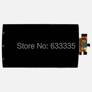 LCD Display Touch Screen Digitizer Assembly For Sony ericsson Xperia Arc S LT18i LT18 X12 LT15i LT15 front outer glass black