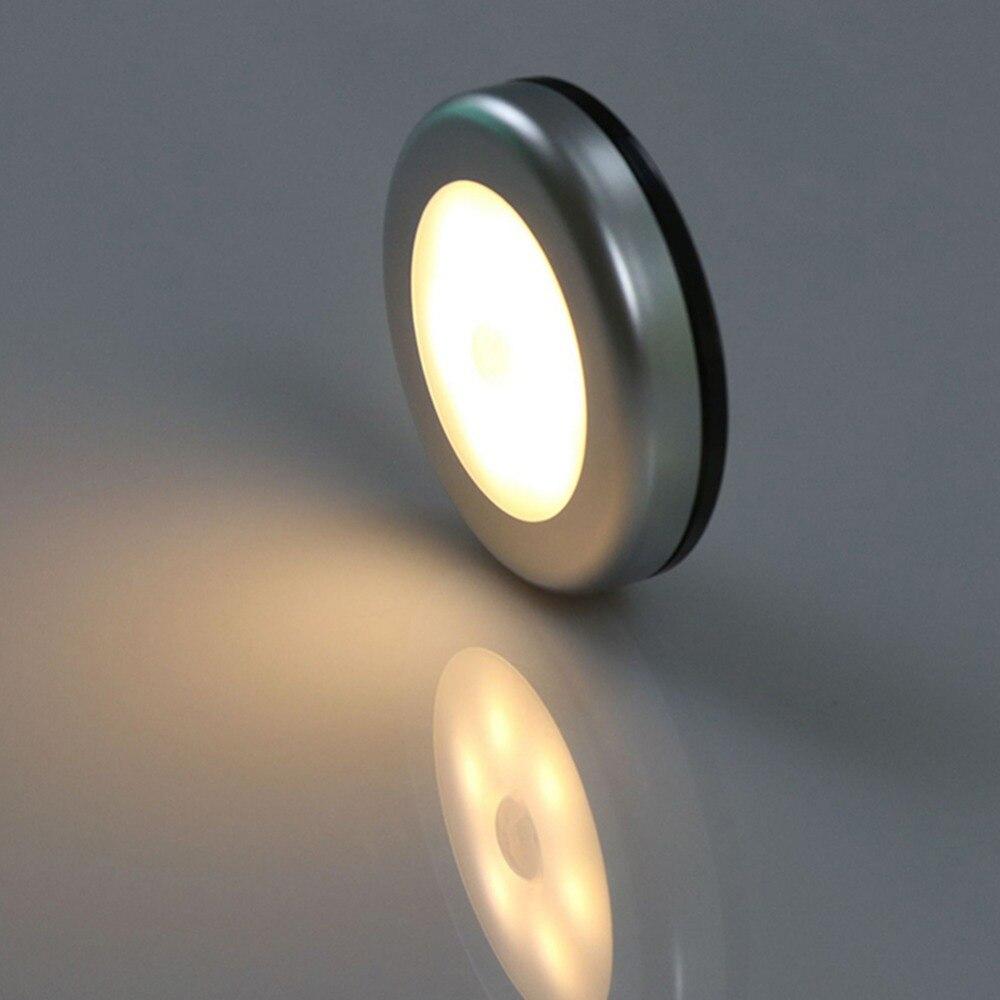 2//5//10 Pcs Kitchen Cabinet Cupboard Wardrobe Inner Hinge LED Sensor Lamp Light