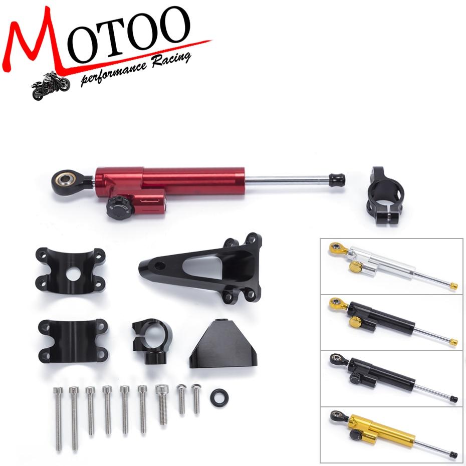 Motoo FREE SHIPPING For HONDA CBR600 F4I 2001 2002 2003 2006 2007 Motorcycle Aluminium Steering Damper