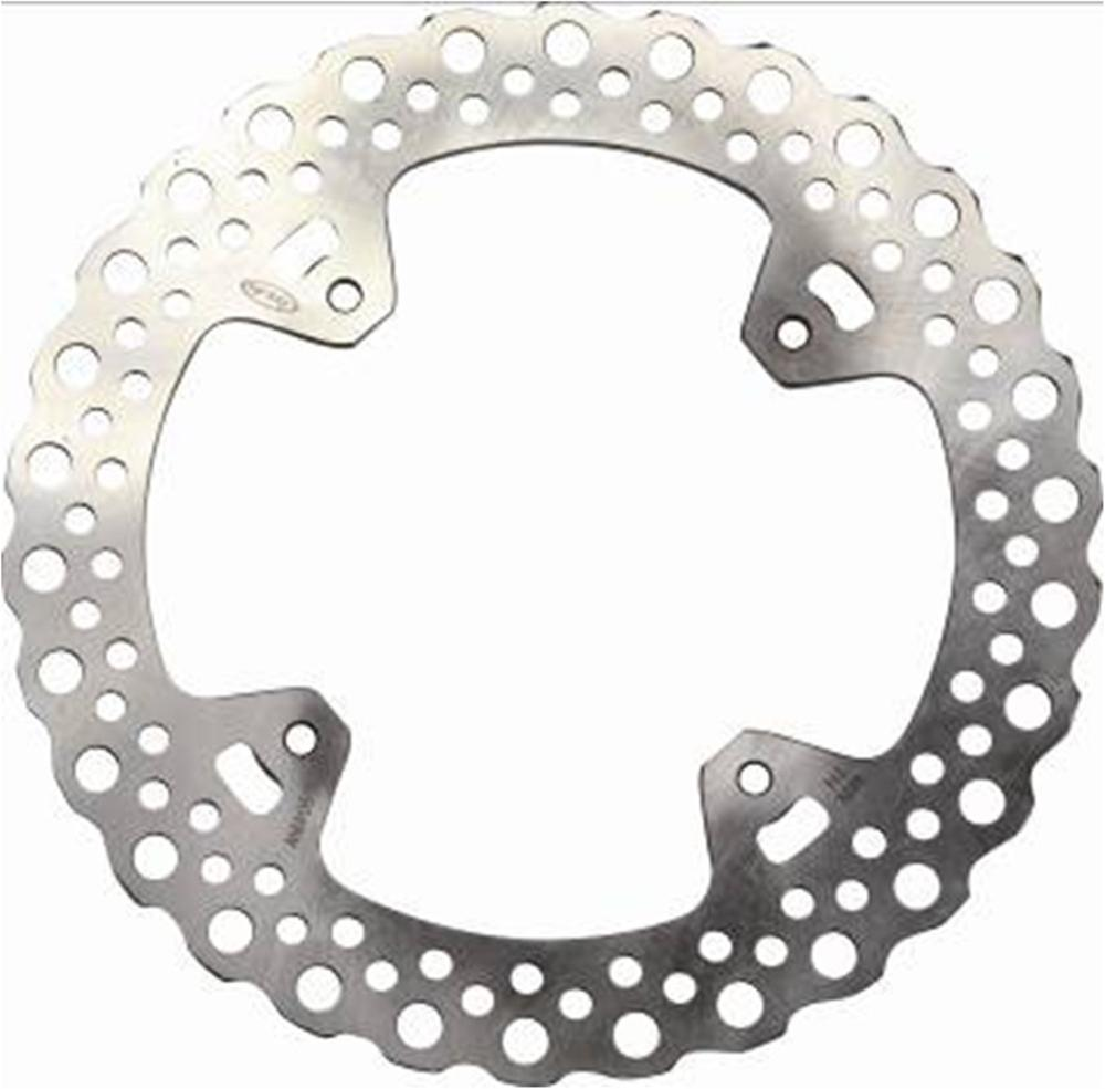 1x Rear Brake Rotor Disc Braking Disk for Honda-HM CR250E/CRF450X SUPERMOTARD CRE 250F/X 2004-2009 CR125E SUPERMOTARD 2002-2008 1 pcs motorcycle rear brake rotor disc steel braking disk for honda cbr1100xx 1997 2004 xlv1000 varadero abs 2004 2007 2010 2011