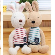 Le Sucre Sugar RABBIT,SG329 Navy suit design 60CM,2 COLORS,stuffed dolls,Birthday,valentine's day gift,factroy wholesale