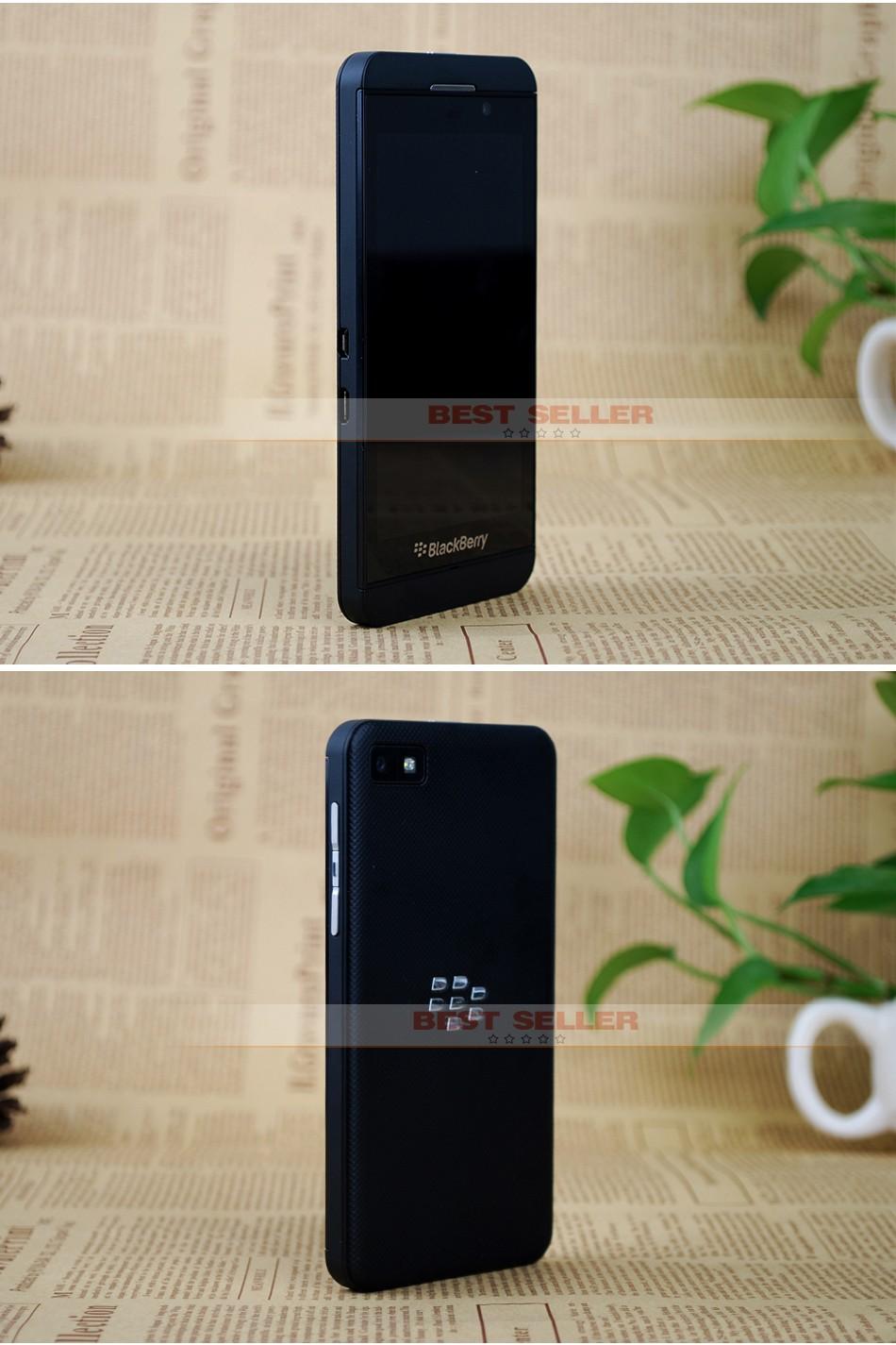 Unlocked Original Blackberry Z10 3G 4G Smartphones NFC GPS WIFI 4.2 inch Touch Mobile Phones 2+16GB white 3