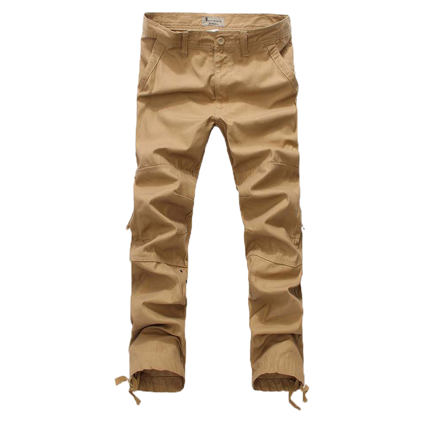 man s 2017 new patterm Cotton Side pocket zipper overalls casual pants big yards loose trousers