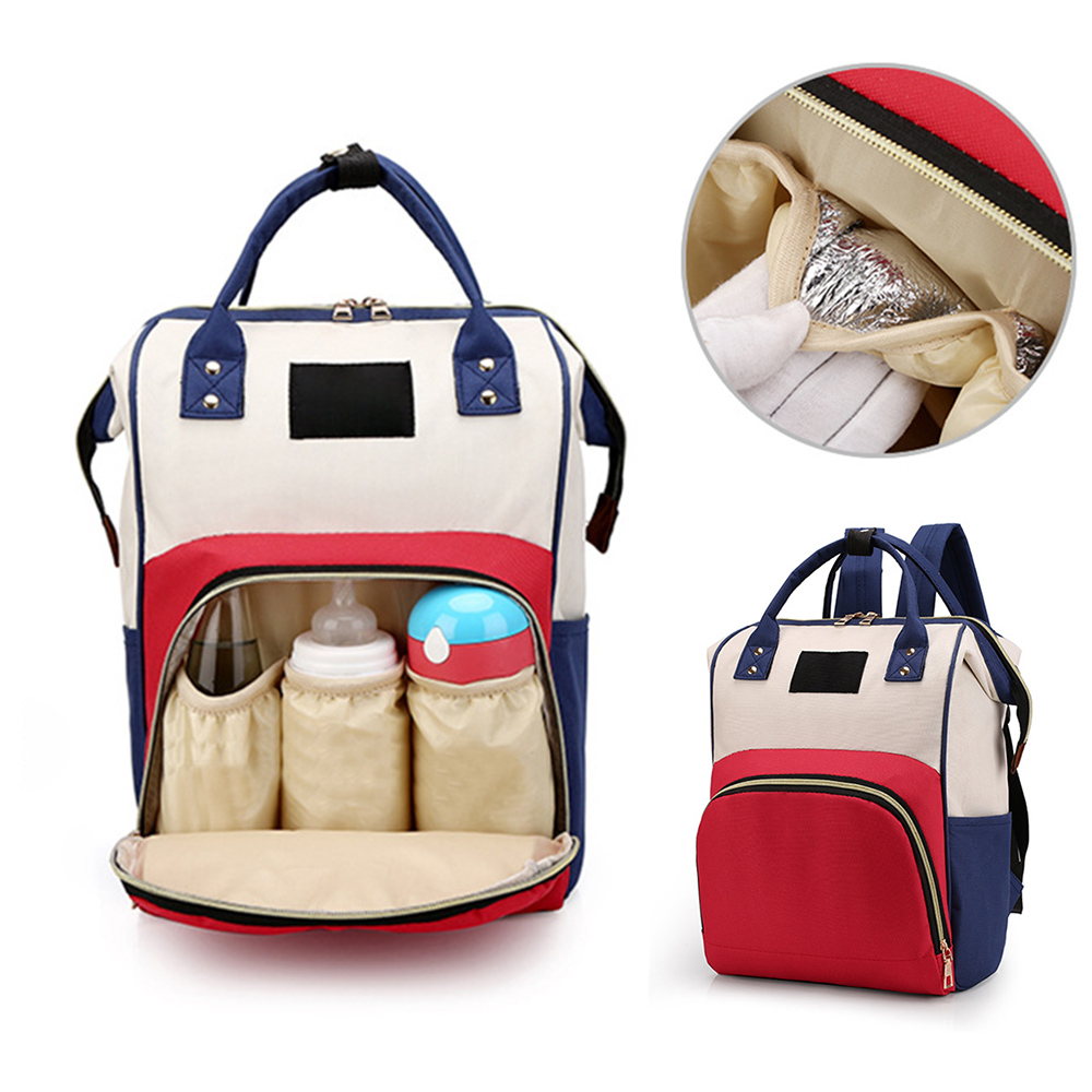 Baby Diaper Bags Backpack Diaper Baby Bag Big Capacity Baby Bag Wet Bag Oxford Cloth Mummy Maternity Backpack Nappy Backpacks