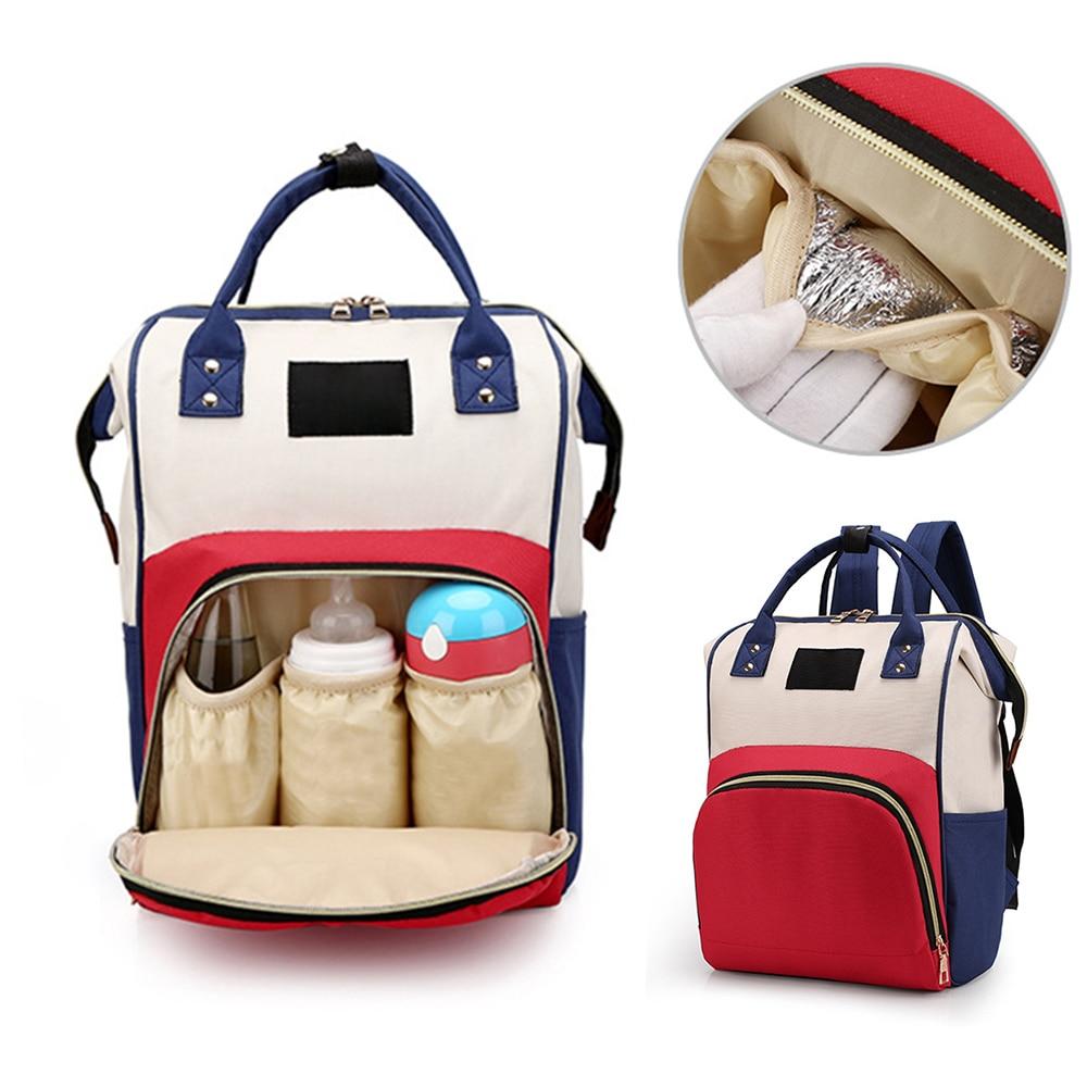 Baby Diaper Bags Backpack Diaper Baby Bag Big Capacity Baby Bag Wet Bag Oxford Cloth Mummy Maternity Backpack Nappy Backpacks