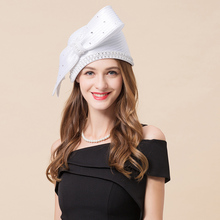 Женский головной убор для невесты, свадебное платье для девочек, шляпа для фотосессии, повязка на голову для невесты, свадебная шляпа невесты, вечерние шляпы со стразами