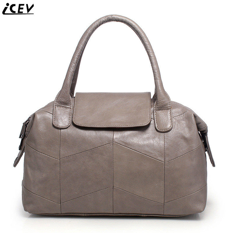 Organizer Fashion Clic Women S Genuine Leather Handbags Large Capacity Messenger Bag High Quality Boston Tote Bags Ol Office