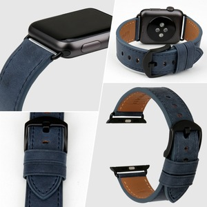 Image 4 - MAIKES Genuine Leather For Apple Watch Strap 44mm 40mm & Apple Watch Band 38mm 42mm Watchbands iwatch Series 4 3 2 1 Bracelet