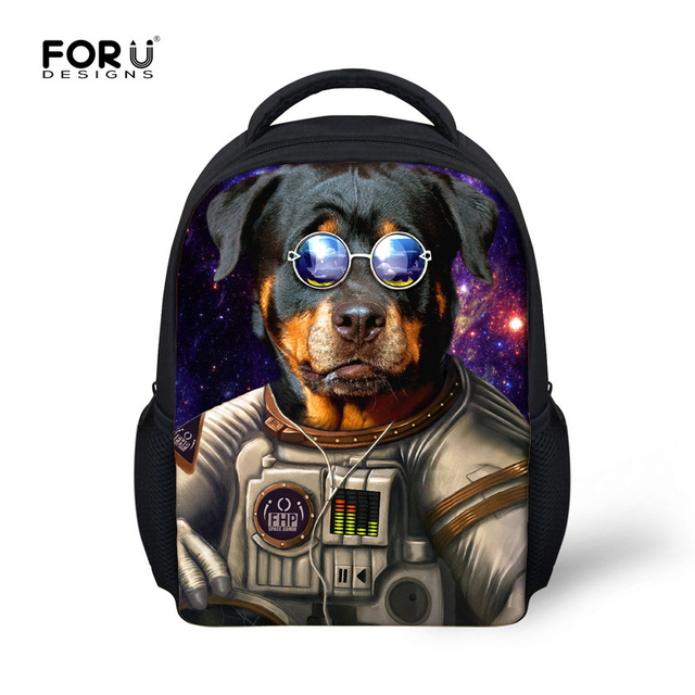 6 Colors Children Lovely Book Bags Animal Dog Tiger Pattern Fashion Bags Bagpack for Little Kids Gifts Cheap Boy's School Bags