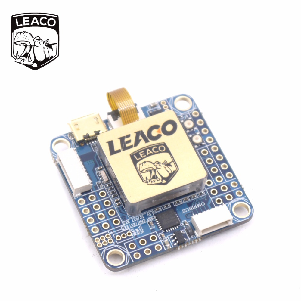 LEACO OMNIBUS AIO F7 V2 Flight Controller Board Built in betaflight OSD For Quadcopter betaflight omnibus f4 flight controller built in osd power supply module bec for fpv quadcopter drone accessories fpv aerial pho
