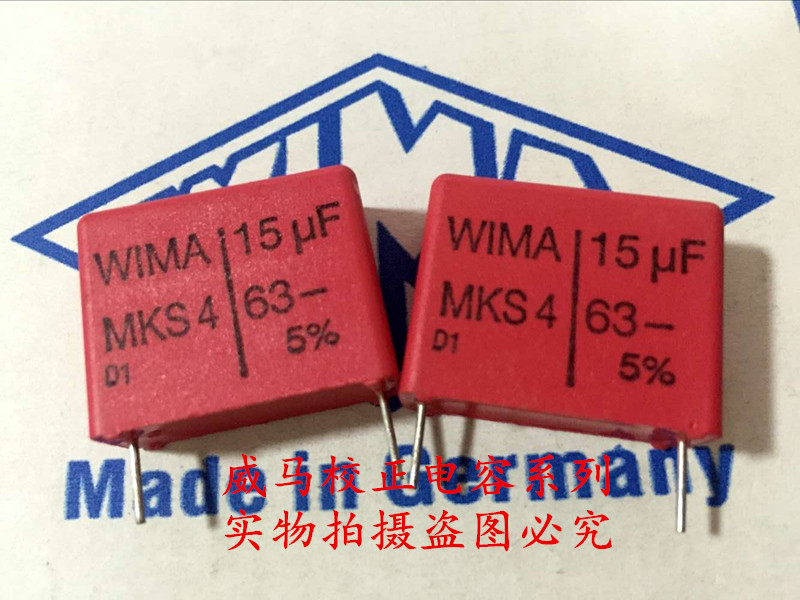 2019 hot sale 10pcs/20pcs German capacitor WIMA MKS4 63V 15UF 63V 156 P: 22.5mm audio capacitor Audio capacitor free shipping2019 hot sale 10pcs/20pcs German capacitor WIMA MKS4 63V 15UF 63V 156 P: 22.5mm audio capacitor Audio capacitor free shipping