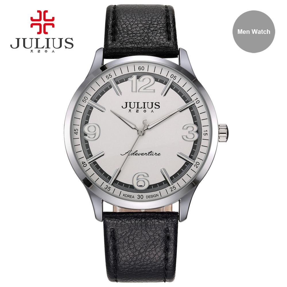 Relojes Hombre 2017 Whatch Men Quartz Watches Bracelet Relogio Masculino Leather Strap  Montre Homme Sports Clock JA-940M