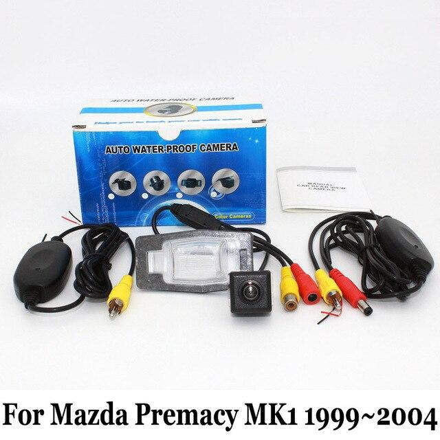 Ночного Видения Камера Заднего вида Для Mazda Premacy MK1 1999 ~ 2004/RCA Проводной Или Беспроводной HD Широкоугольный Объектив Автомобиля Резервную Камеру