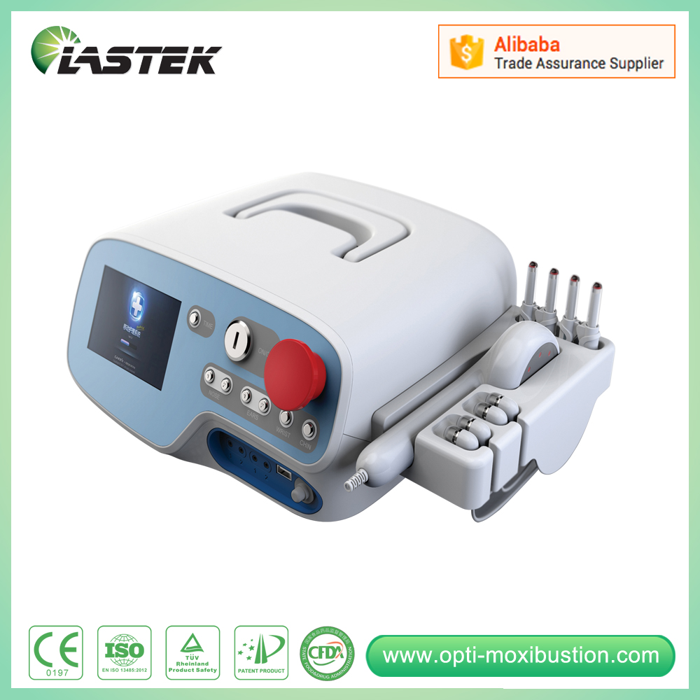 Acute and chronic pain relief laser physiotherapy equipment ce marked laser physiotherapy pain relief medical equipment back pain relief machine