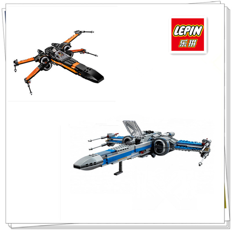 In-Stock 740PCS NEW LEPIN 05029 05004  Rebel X-wing fighter KIDS TOY Building blocks assembled Compatible 75149 75102