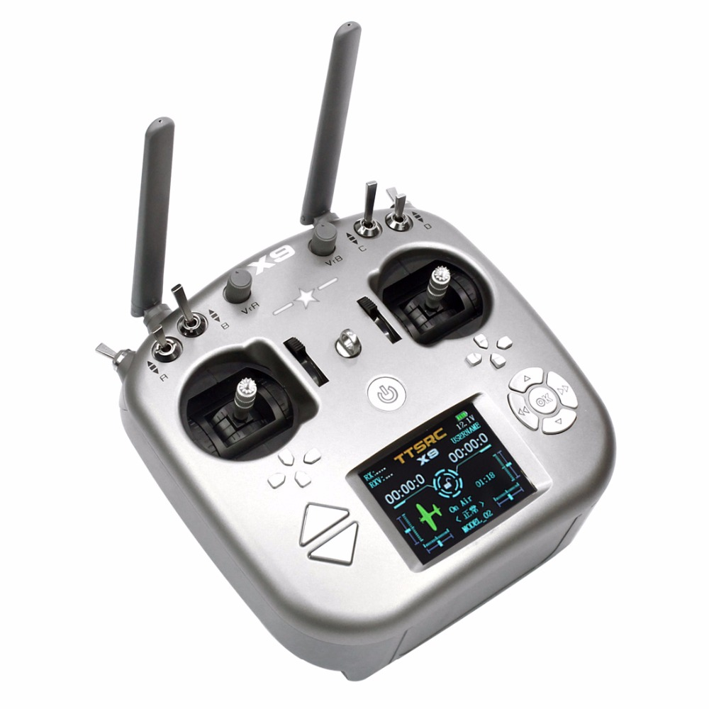 JMT X9 Remote Control 9CH Transmitter with Receiver for DIY Mini Drone Airplane/ Helicipter Accessories F22852
