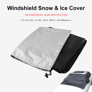 Image 5 - Car Sunshade With Magnet To Avoid Sunlight Rain Ice  Snow Protection Front Windshield With Storage Bag
