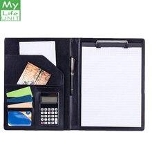 Mylifeunite папка для буфера бизнес-конференции папка для файлов размер письма буфер для хранения с многоразовыми блокнотами