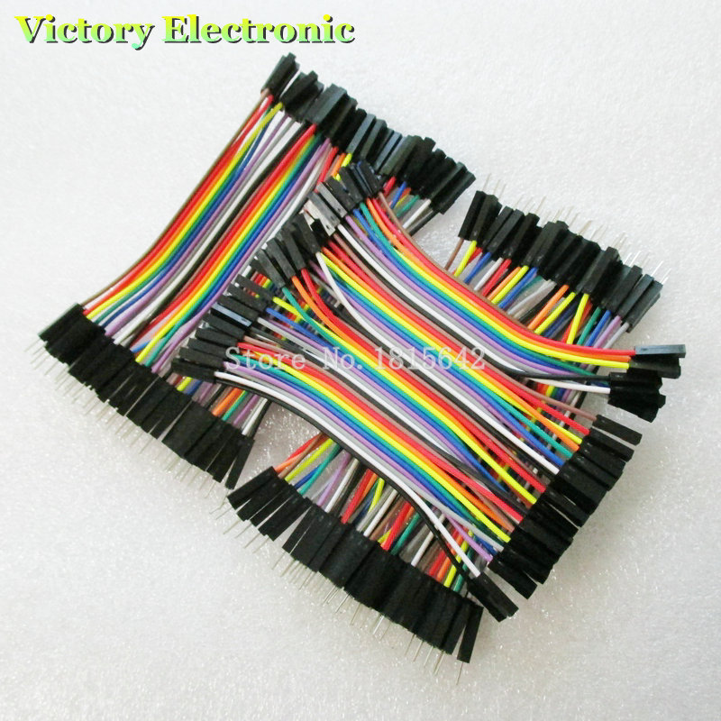 Dupont Line 120pcs 10cm male to male + male to female and female to female jumper wire Dupont cable For Breadboard
