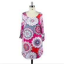 Spring Plus Size Women's Cotton Dress