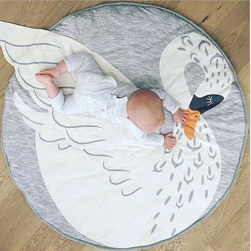 2017 Lovely Sheep Kid Play mats Carpet Soft Baby Crawling Mat Rug / baby blanket muslin swaddle/photography props wrap(40Lx30W)