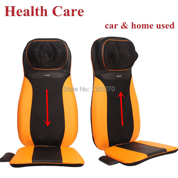 New rolling massage chair shiatsu NEW massage cushion car massage seat cushion with heating 12V newest drivers car massage cushion seat jade heating kneading massage cushion free shipping