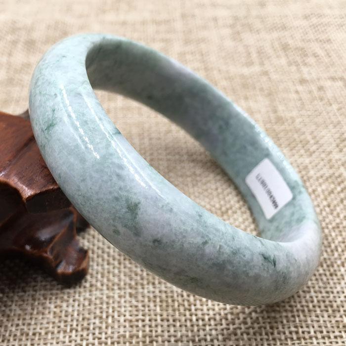 Горячая продажа> @ 61 мм Сертифицированный класс А зеленый натуральный камень гранулы новый невесты Новый Бесплатная доставка