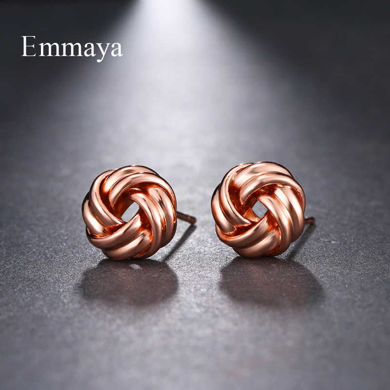 Женские металлические серьги Emmaya, простые многоцветные серьги для свадьбы, путешествий, вечерние ювелирные изделия