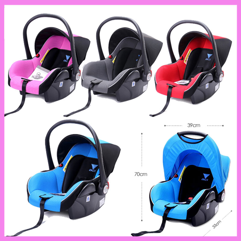 Portable Newborn Baby Child Safety Car Seat Stroller Sleeping Basket Baby Cradle Bouncer Car Seat Cradle Swing 0~15 M 2017 new babyruler portable baby cradle newborn light music rocking chair kid game swing