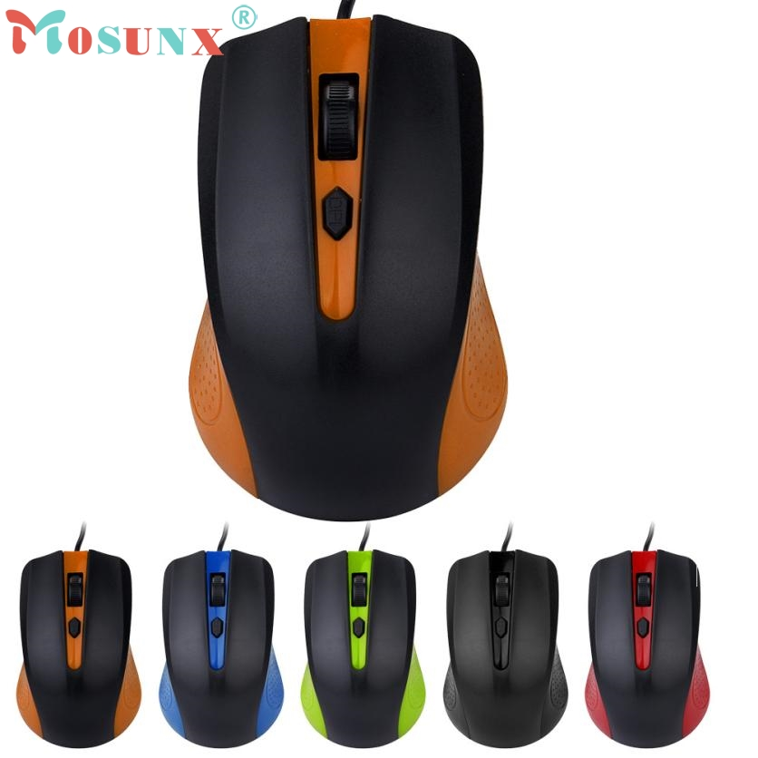 Mouse Raton Professional Wired USB 1200DPI Optical Mouse Gaming Mouse Rechargeable computer mouse 18Aug3 цены