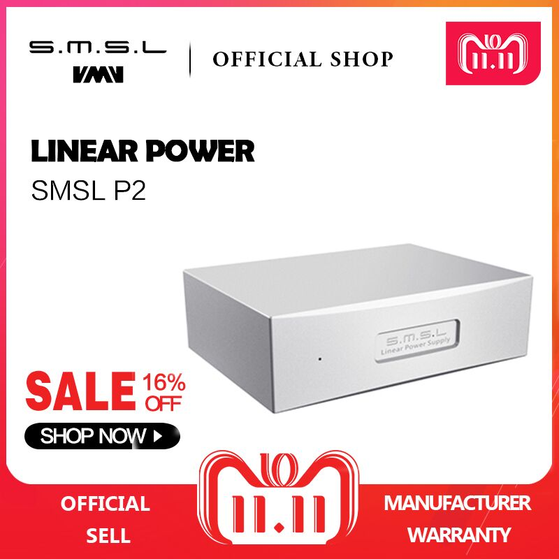 купить SMSL P2 Linear Power Supply Dual 5V Output Can Use As Audio Power Supply Set for SMSL M8A and SAP-12 Amplifier по цене 8159.02 рублей