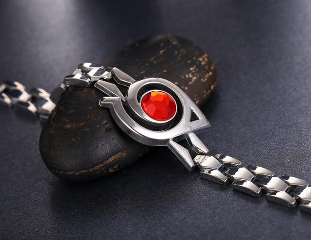 Naruto Silver Alloy Bracelet Bangle