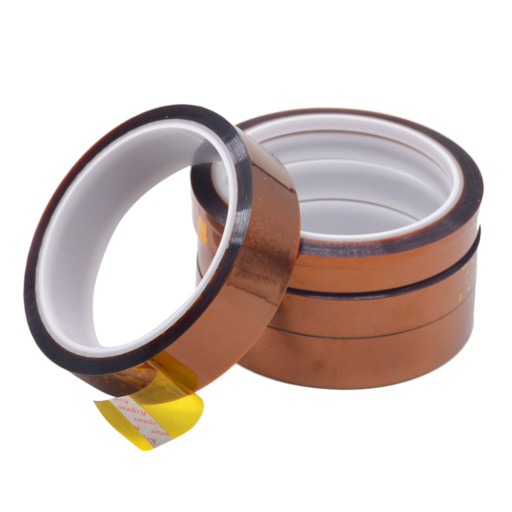 1PC 33M Length Heat Resistant Polyimide Tape High Temperature Adhesive Insulation Tape 3MM 5MM 8MM 10MM Width1PC 33M Length Heat Resistant Polyimide Tape High Temperature Adhesive Insulation Tape 3MM 5MM 8MM 10MM Width