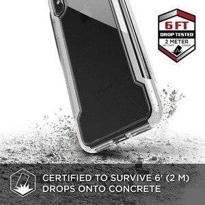 Image 2 - X doria funda protectora transparente para iPhone, funda protectora de grado militar probada con caída para iPhone X XR XS Max