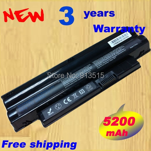 New 6cell Laptop Battery 3K4T8 8PY7N 2T6K2 854TJ 312-0966 312-0967 For DELL Inspiron Mini 1012 Netbook 10.1