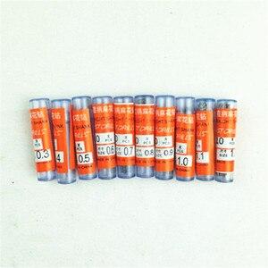 Image 4 - Mixed 100pcs/lot  from 0.3mm to 1.2mm Micro HSS Twist Drill Bit HSS Woodworking Drilling Tool Twist Drill Bits Hole Boring