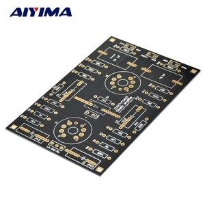 Image 1 - AIYIMA 12AX7/12AU7 チューブプリアンプアンプ PCB ボードデュアルチャンネル管胆汁プリアンプ空ボード Diy