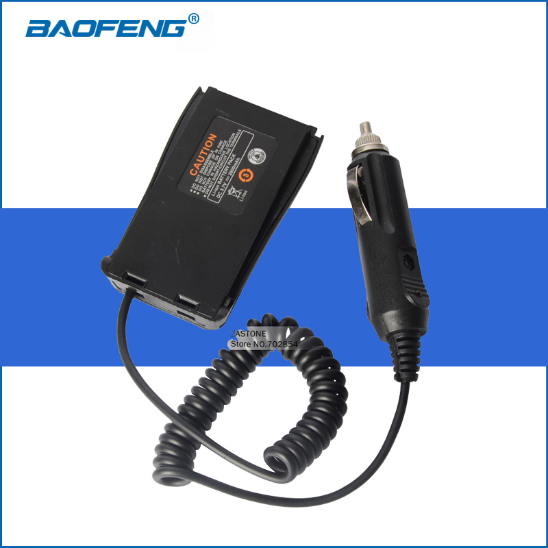 bilder für Baofeng 888 S Walkie Talkie Zubehör BF-888S Auto Charger Battery Eliminator Adapter DC 12 V Zubehör für Baofeng BF 888 S
