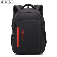 Miwind мужские рюкзаки Оксфорд большой Ёмкость мужской школьные сумки колледж мужской и женский деловая сумка дорожная сумка сумки для ноутбуков TAC896