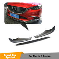 Carbon Fiber For Mazda 6 GT GX GS GS L Touring Sedan 4 Door 2017 2018 Front Bumper Lip
