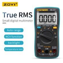 ZOYI Digital Multimeter ZT98/100/101/102 True RMS Auto Range Multimetro Voltmeter Amperemeter Kapazität Temperatur Hz NCV Tester