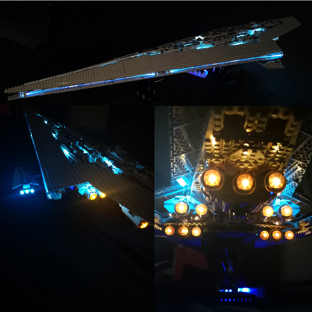 Light Kit For  10221  Super Star Destroyer Building Block Light Set Compatible With  05028