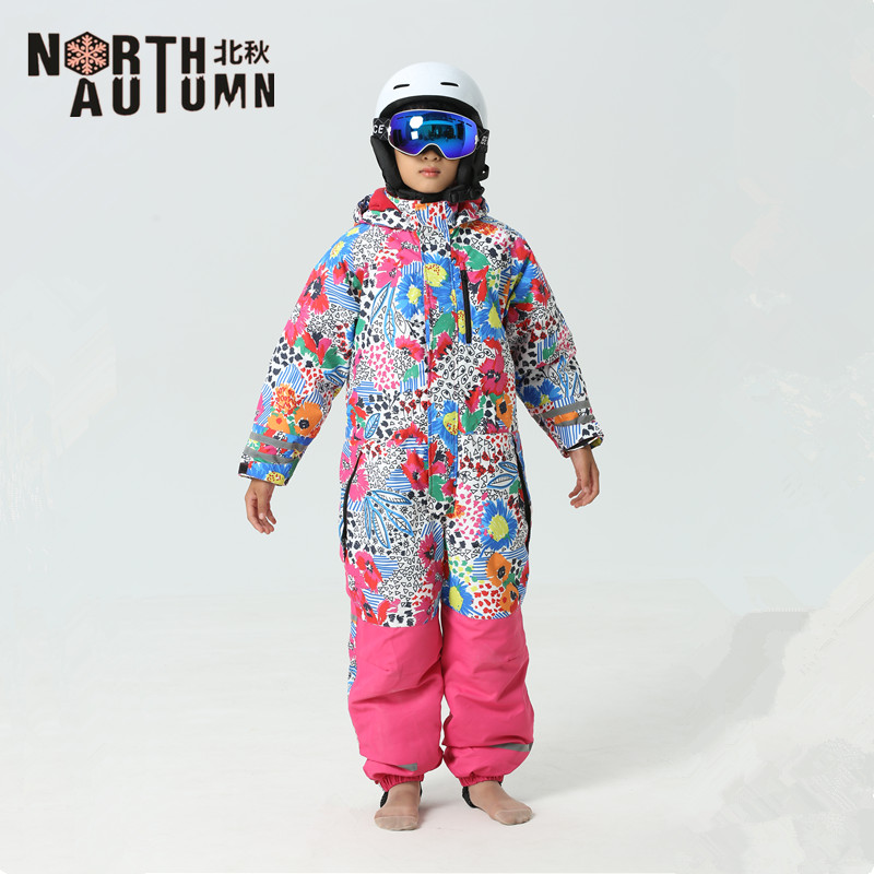 Ski Suits Girls Snowboard Set Kids Russian Winter Sport Suit Thermal Waterproof Ski Jumpsuit Boys Snowsuit Kids Ski Jacket Girls