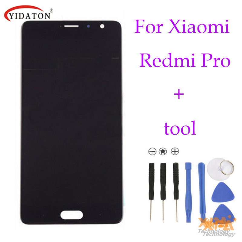 High quality For Xiaomi Redmi Pro LCD Display+Touch Screen Glass Panel Accessories Phone Replacement free shipping high quality for xiaomi redmi 4 pro lcd display touch screen digitizer replacement for xiaomi redmi 4 pro prime 5 0phone