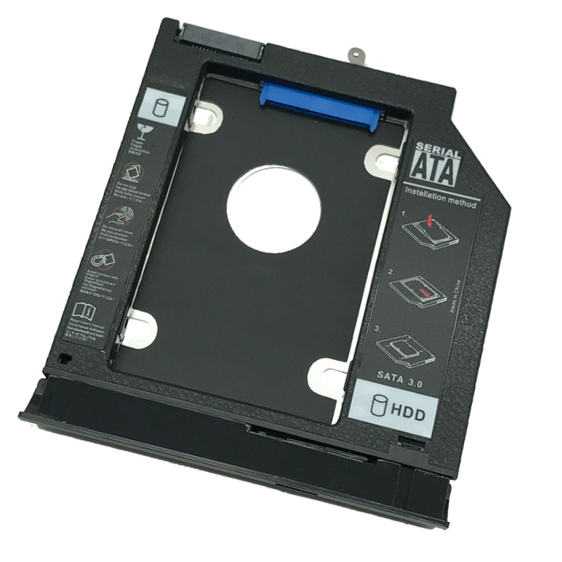 New 2nd SSD HDD Caddy bracket For <font><b>Lenovo</b></font> G40-30 G40-45 G40-<font><b>70</b></font> G40-80 G50-30 G50-45 G50-<font><b>70</b></font> G50-80 <font><b>G70</b></font>-80 E40-<font><b>70</b></font> Z40-75 Z50-75 image