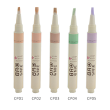 Convenient Rotary Concealer Liquid Brush – 5 Colors Optional